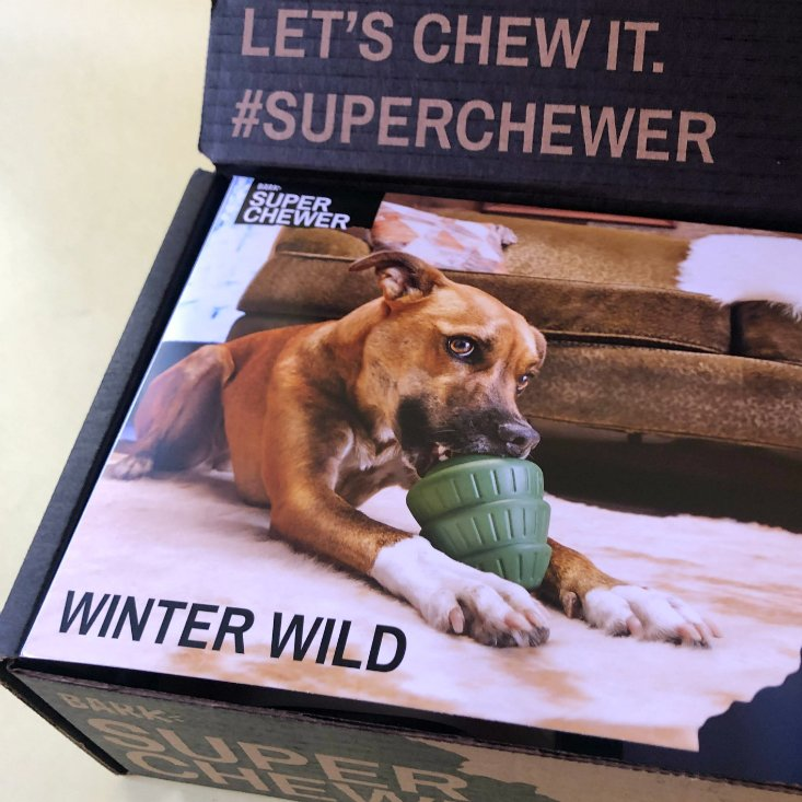 Super Chewer Subscription Box Review + Coupon – December 2019