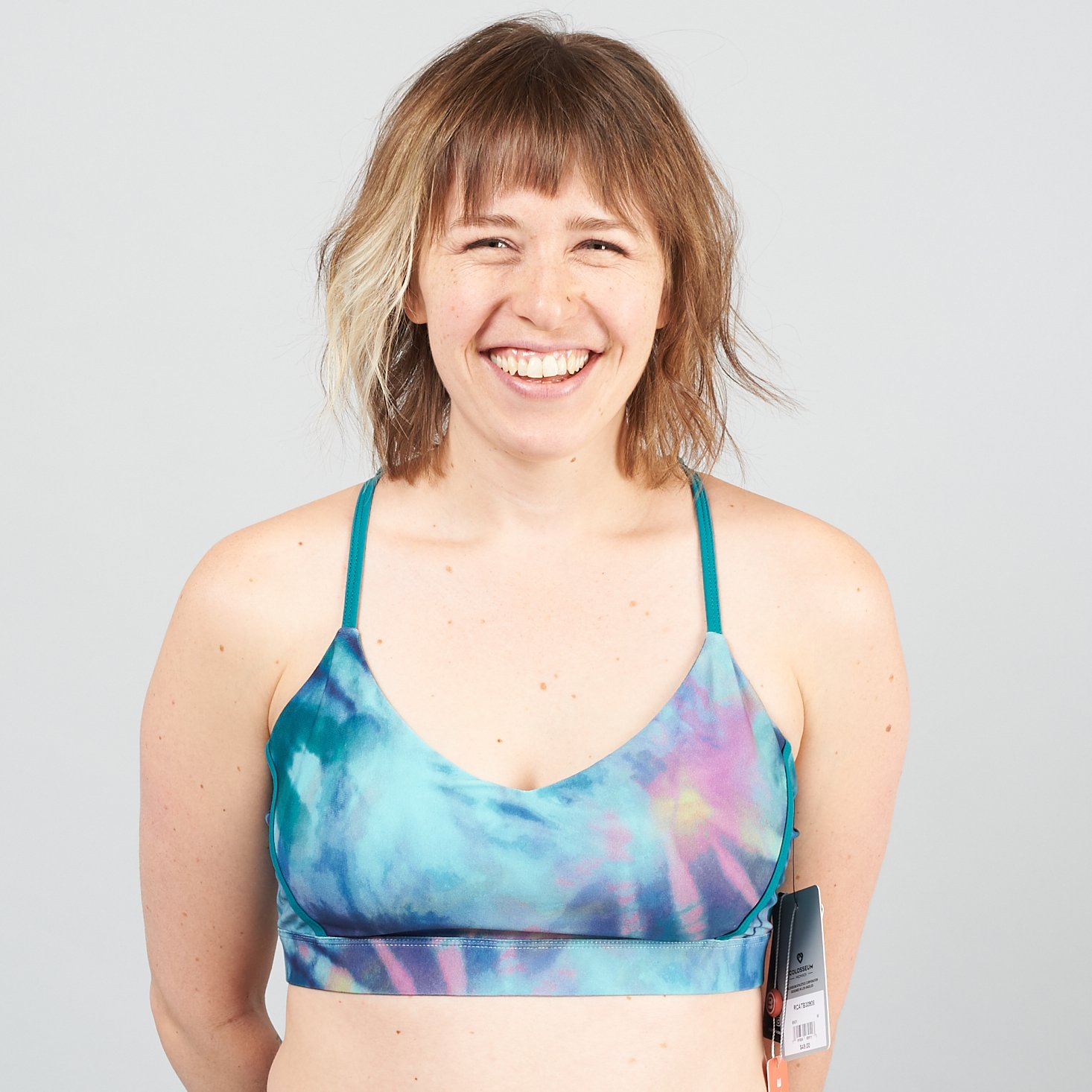Wantable Fitness Edit February 2020 colosseum ava bra in tie dye