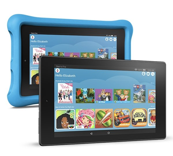 Amazon FreeTime on Fire Tablet