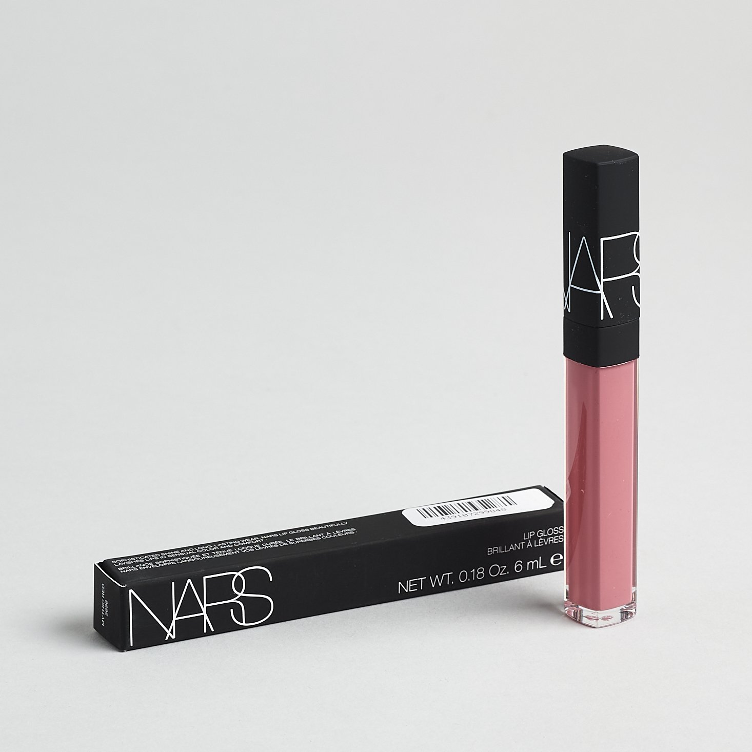 NARS Lip Gloss is Mythic Red with box