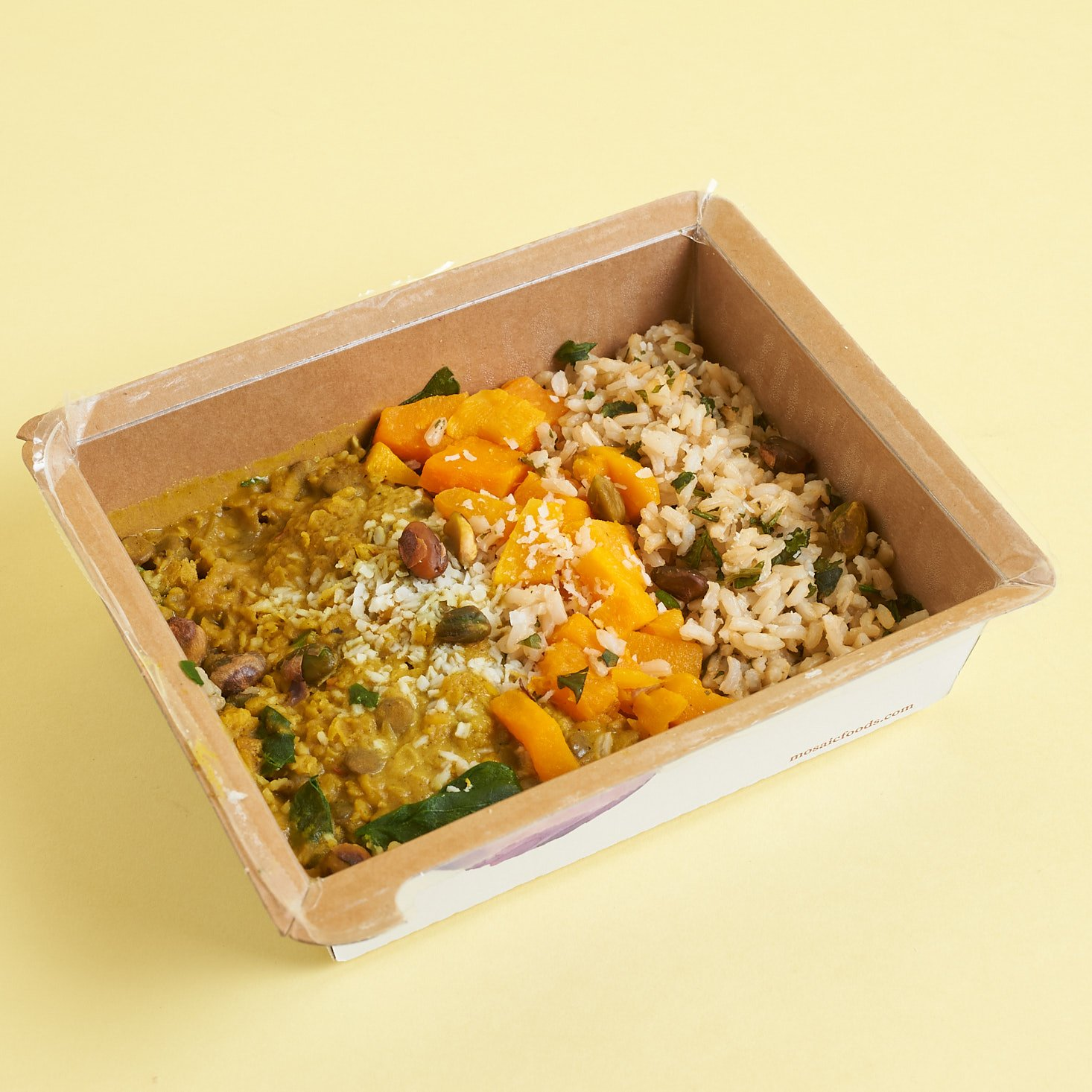 Mosaic Foods Yellow Dal Curry Cooked