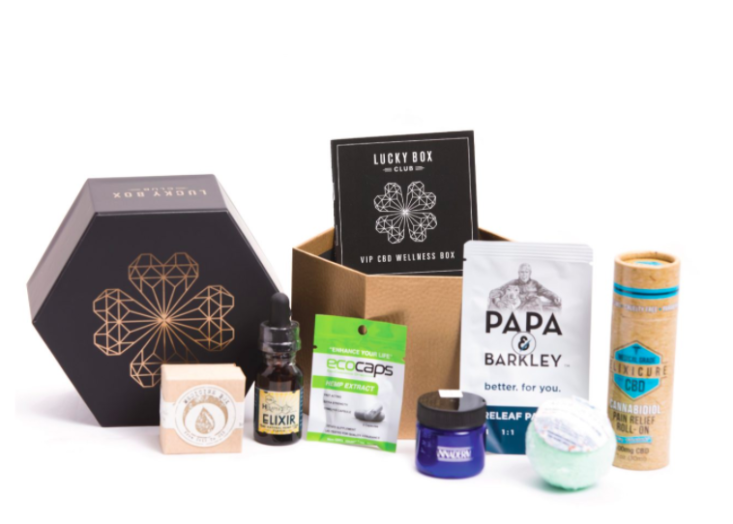 CBD products from Lucky Club Box.