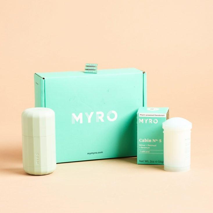 Myro Refillable Natural Deodorant