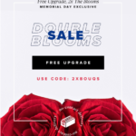 The Bouqs Memorial Day Coupon – Free Double Blooms!