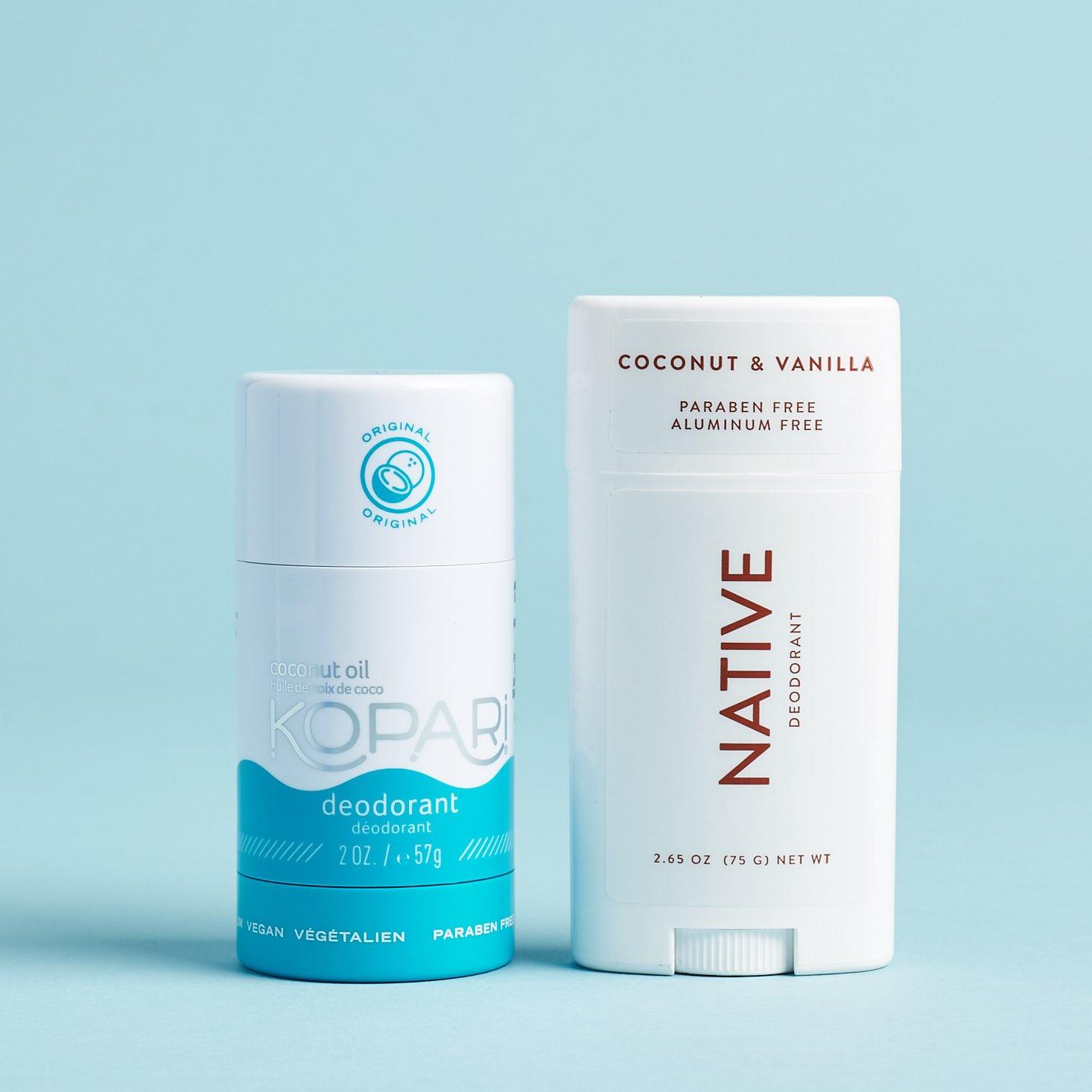 Kopari vs. Native—Comparing These Two Popular Natural Deodorants