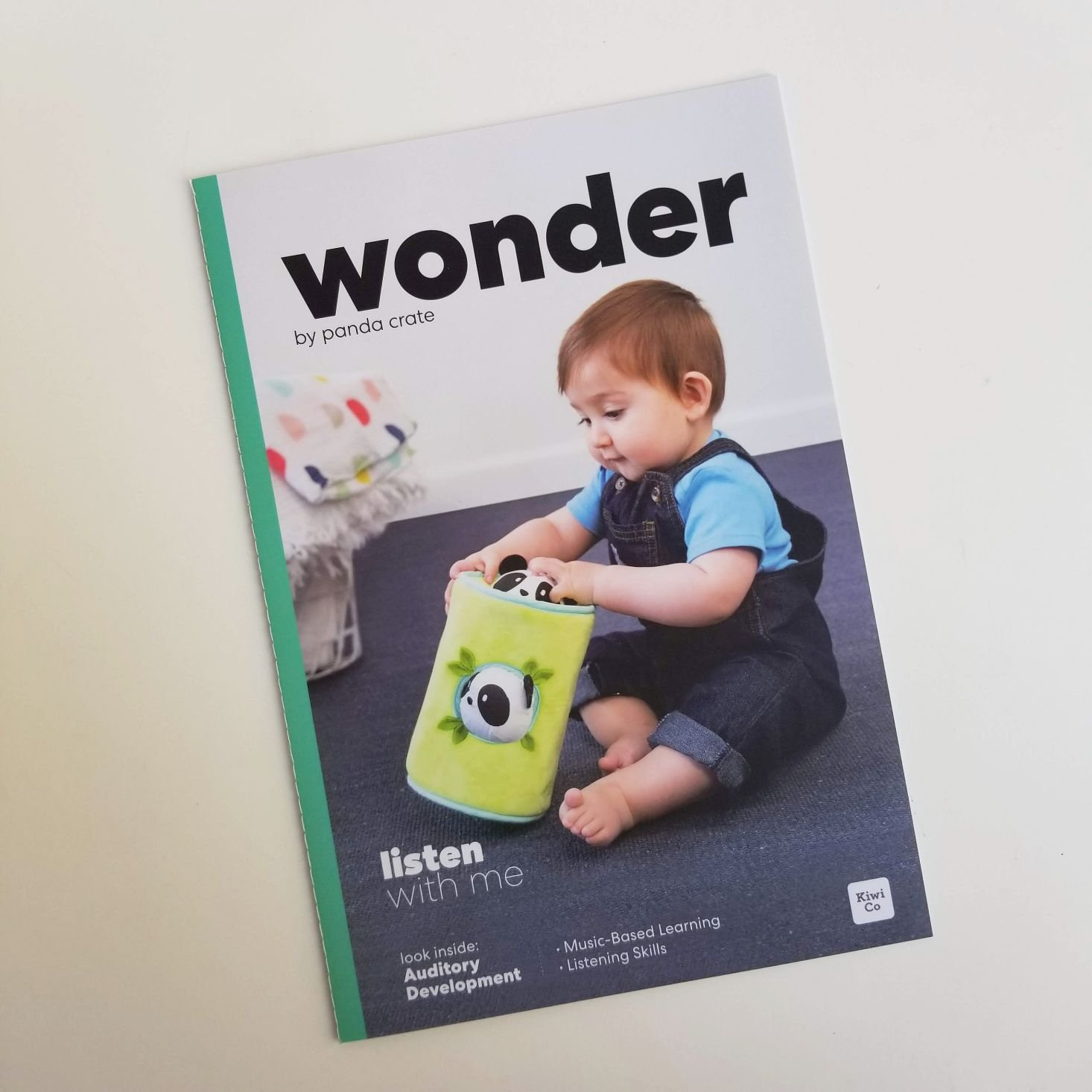 Panda Crate Listen With Me wonder magazine cover