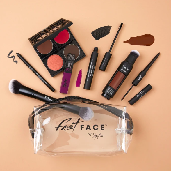 Fast Face Kit example from The Lip Bar.