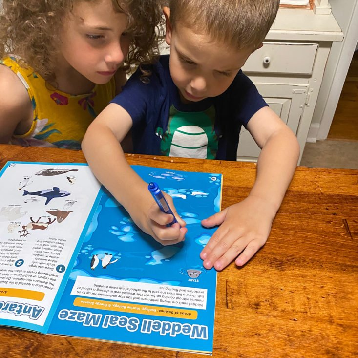 Little Passports Summer Camp in a Box Review: Science Junior