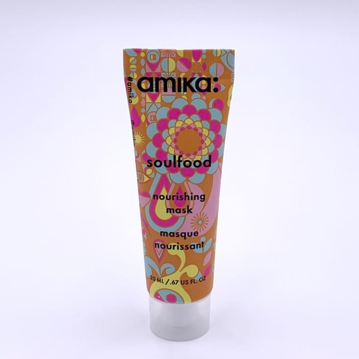Amika Soulfood Nourishing Mask Front for Birchbox July 2020