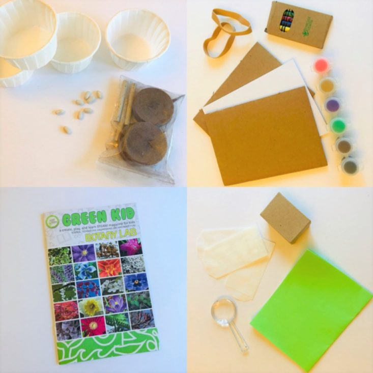 Green Kid Crafts materials from our July 2020 review.