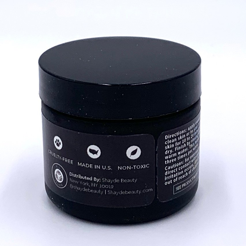 Shayde Beauty Detox Charcoal Mask Back for The Beem Box July 2020