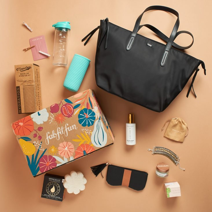 All items from Fall 2020 FabFitFun box.
