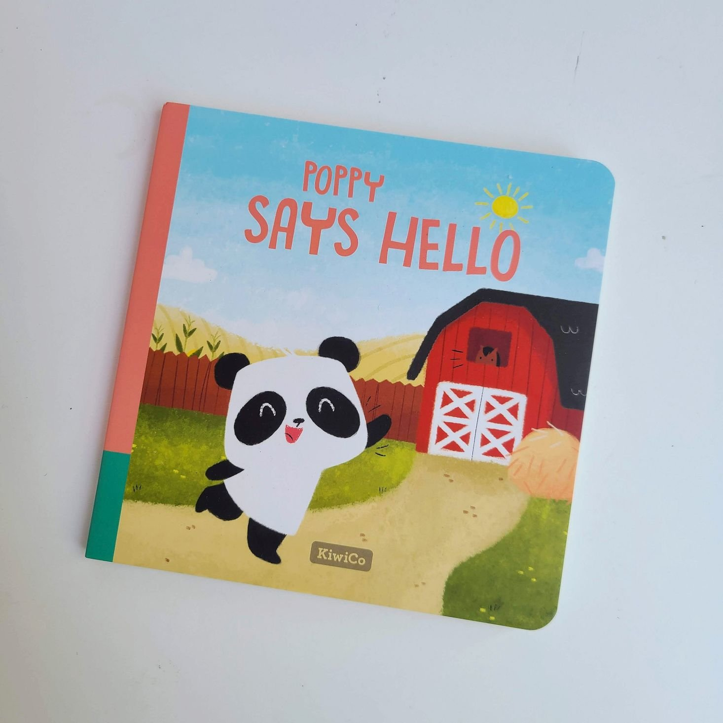 KiwiCo Panda Crate July 2020 poppy book cover