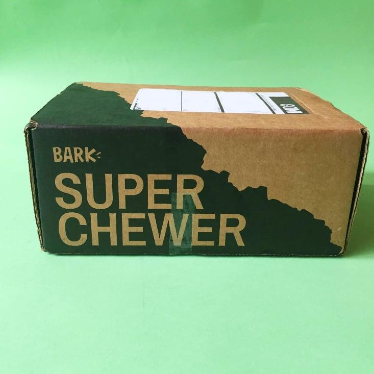 Super Chewer July Box Itself