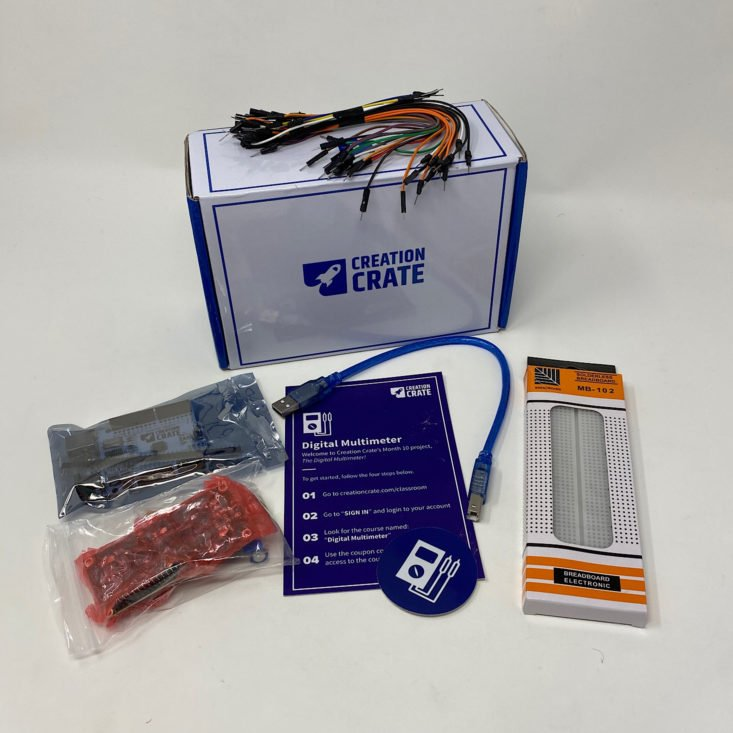 Review for Creation Crate Review + Coupon - Project 10: Digital Multimeter
