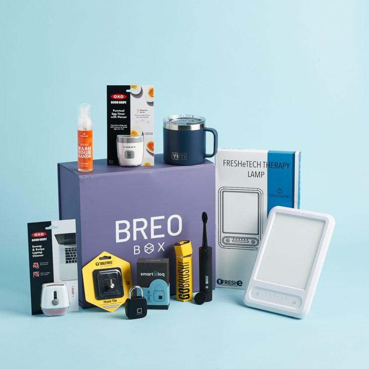 Subscription Box Gift For Men: Breo Box