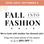 FabFitFun Fall into Fashion Sale Starts Now!