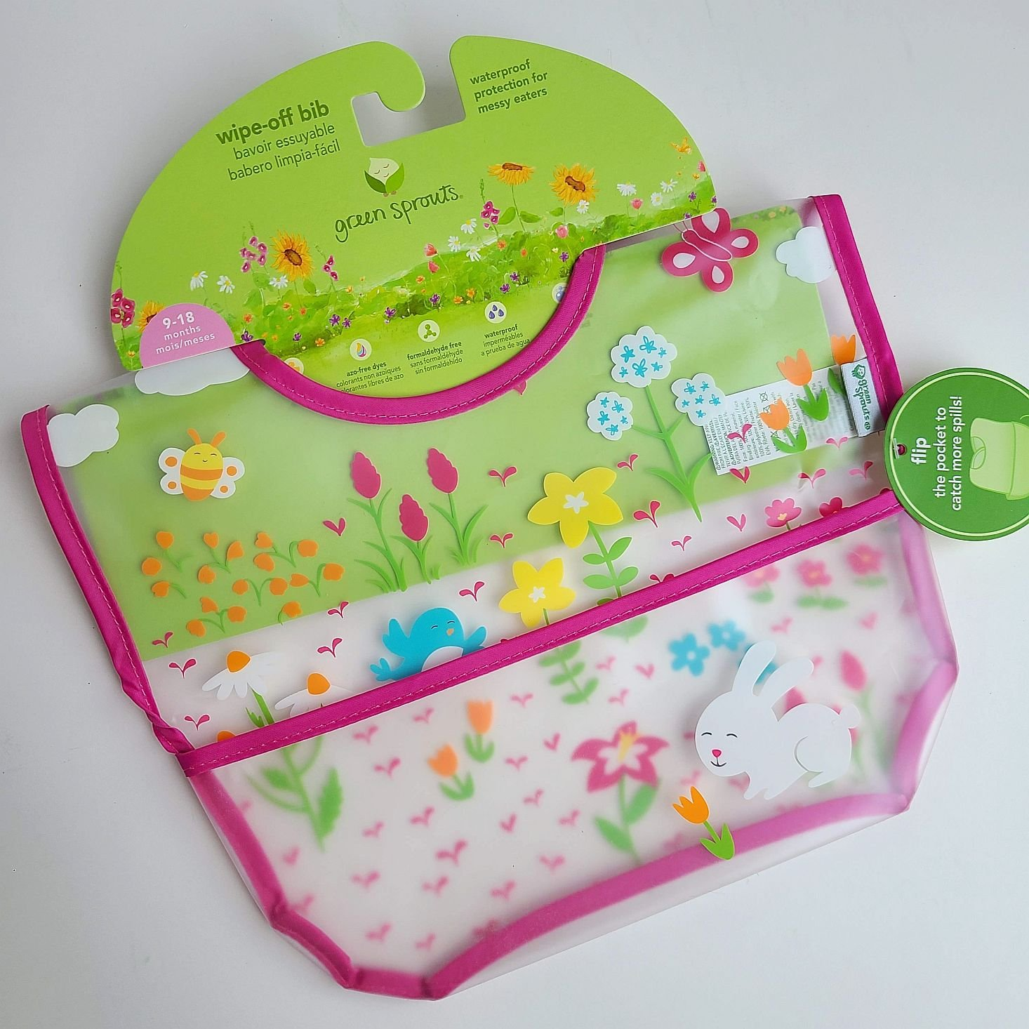 Ecocentric Moms Box September 2020 bib