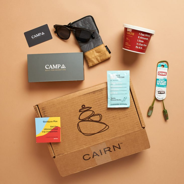 Cairn all products from November 2020 box