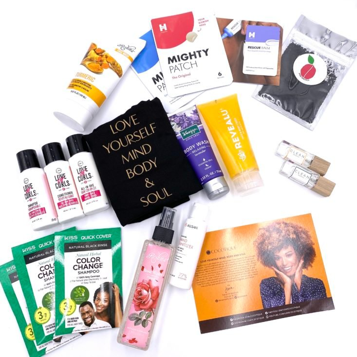 Full Contents for Cocotique October 2020