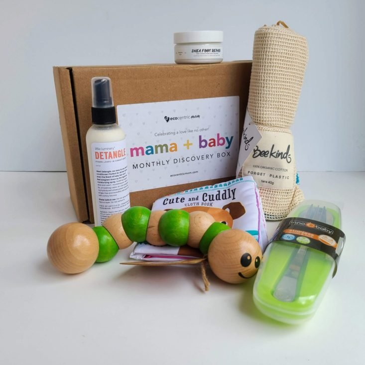 Ecocentric Moms Box October 2020 all items 2