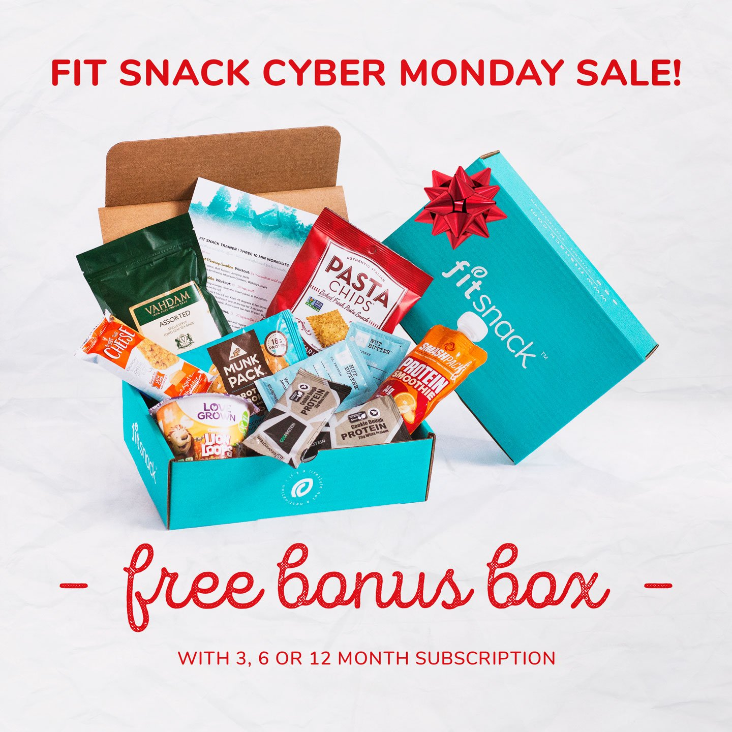 FitSnack Cyber Monday Deal – Free Bonus Box With Subscription