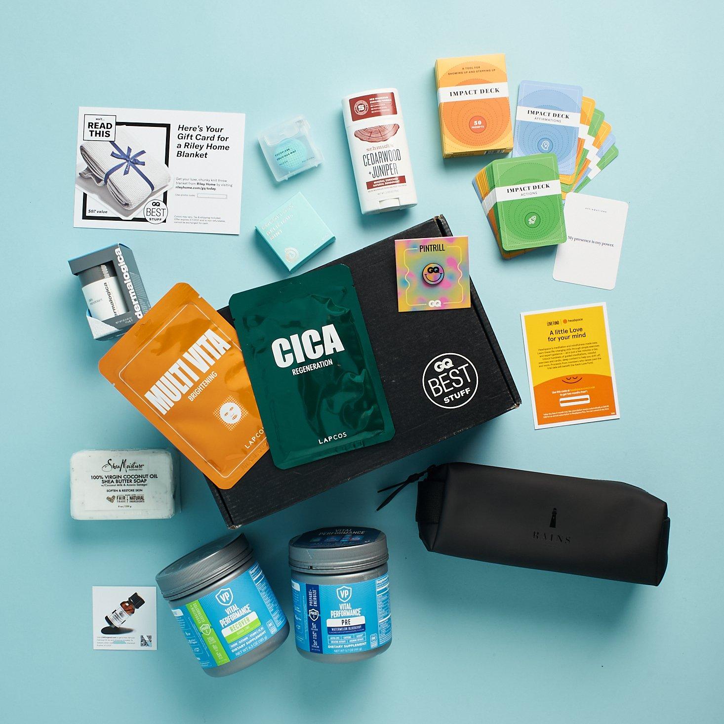 GQ Best Stuff Box Subscription Box Review – Winter 2020