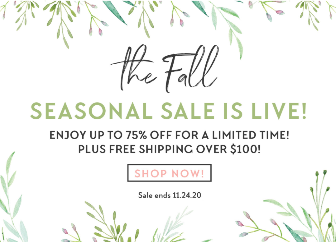 Bombay & Cedar Fall Sale – Up To 75% Off + Coupon!
