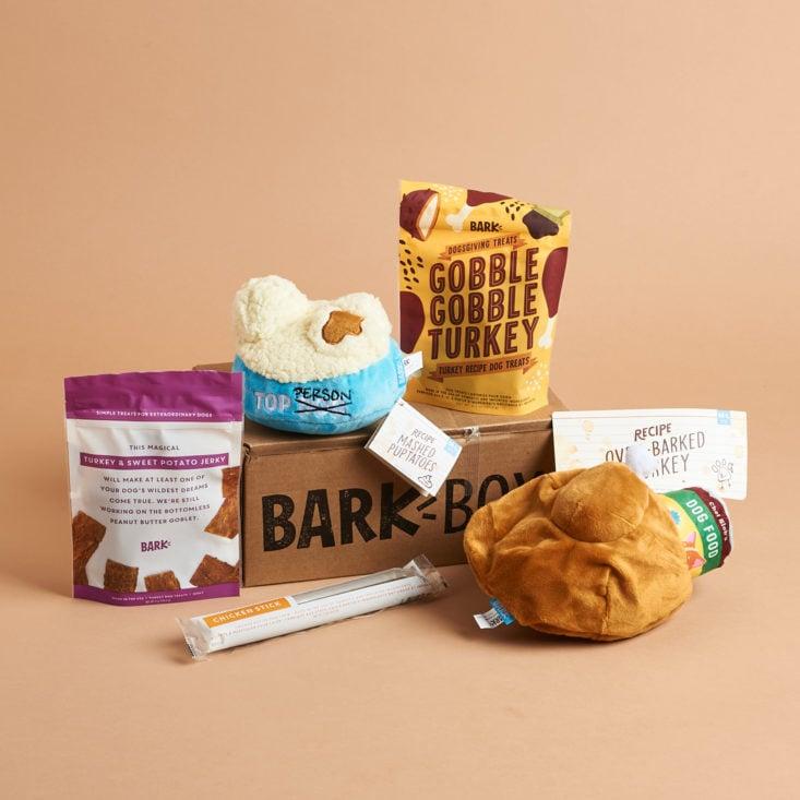 Barkbox - all products in Nov box.