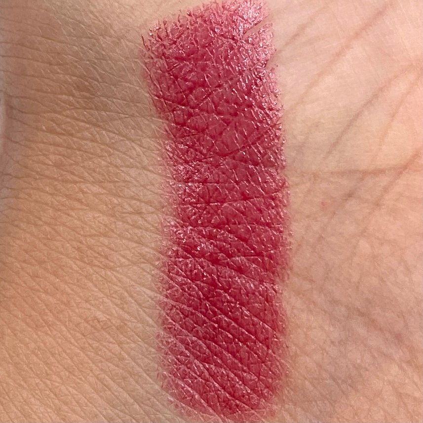 Hola Neon Lipstick Balm in Wine Me Swatch for Birchbox December 2020