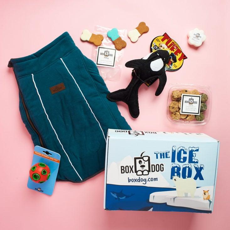 all contents of BoxDog winter box