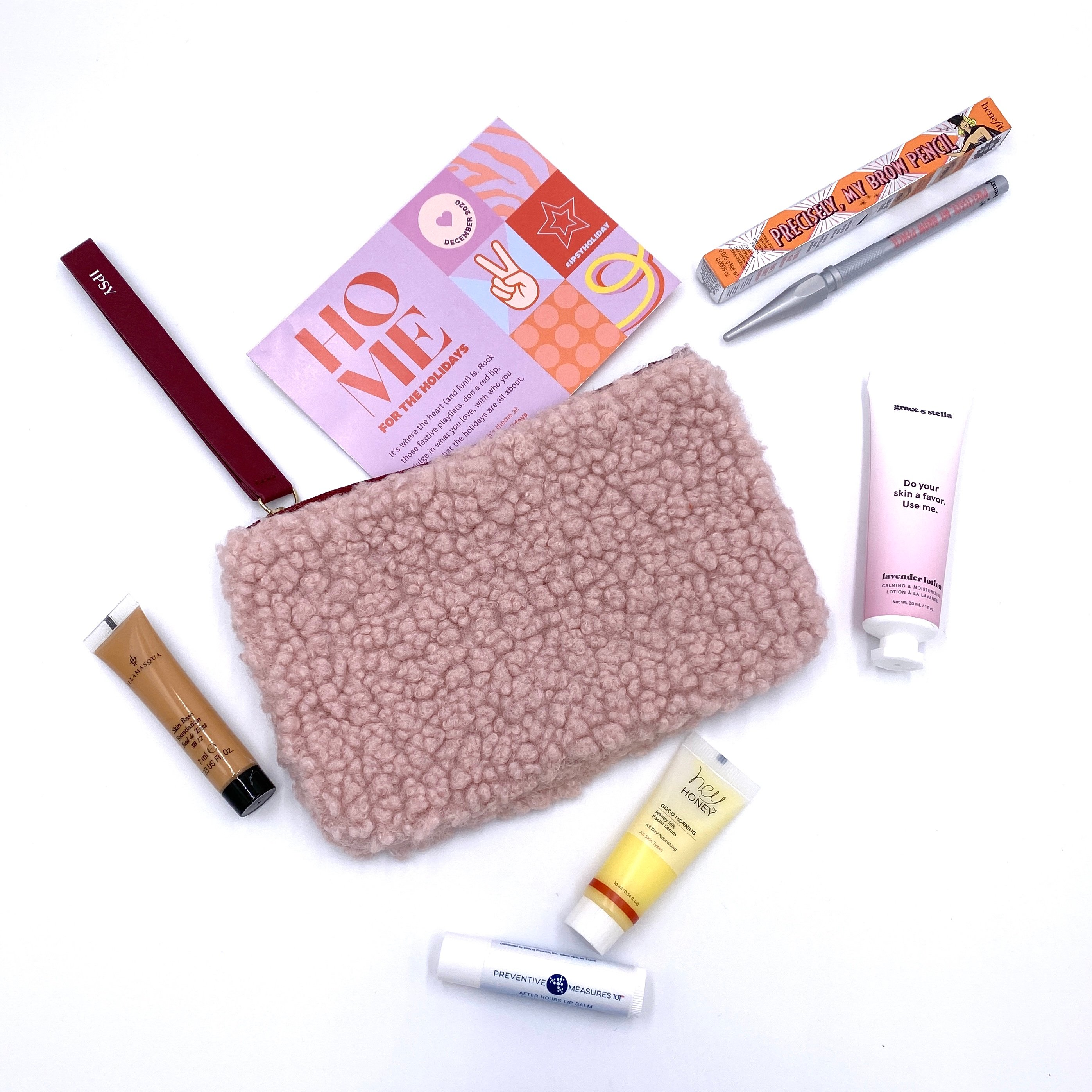 Full Contents for the Ipsy Glam Bag December 2020