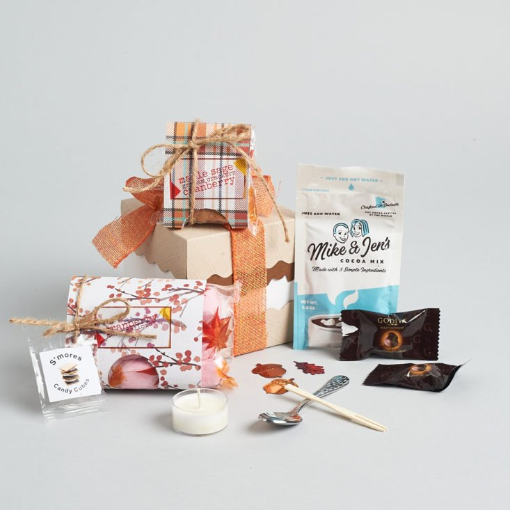 Marshmallow of the Month November 2020 all items