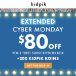 Extended! kidpik Cyber Monday Deal – $80 Off + Free Shipping + No Styling Fees!