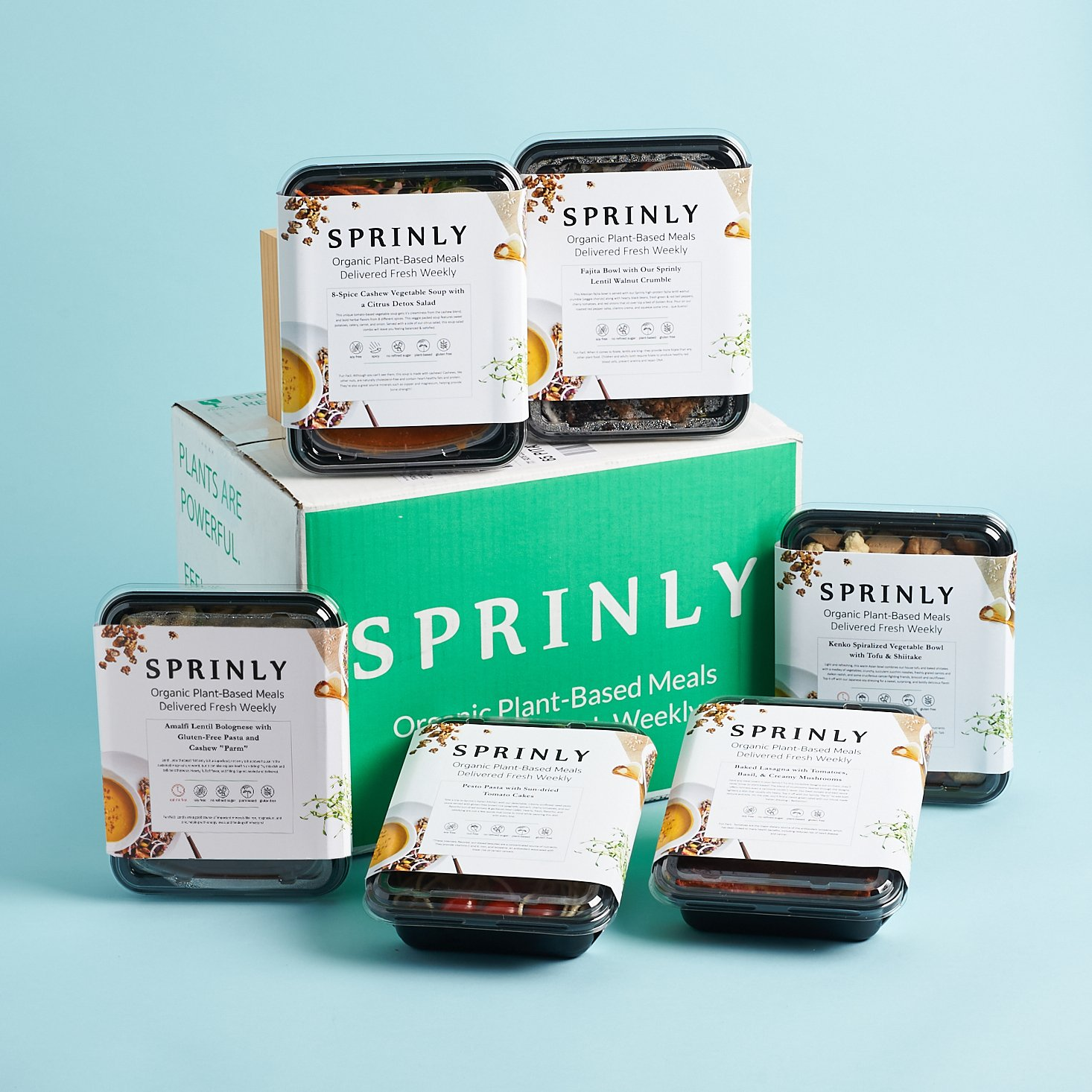 My Sprinly Review — Vegan Meals in a Hurry