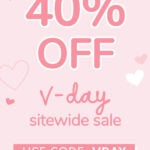 FaceTory Valentine's Day Sale – 40% Off Sitewide!