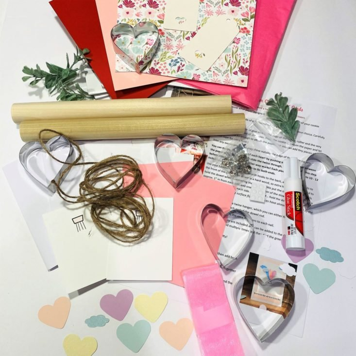 Review for Confetti Grace DIY Box Review + Coupon - January/February 2021