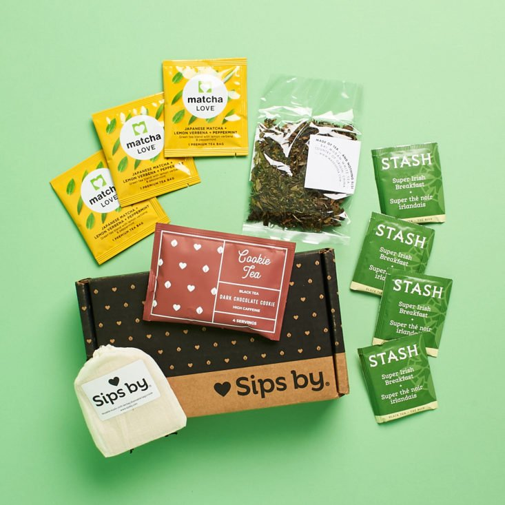 Review for Sips by Tea Subscription Review + 50% Off Coupon – January 2021