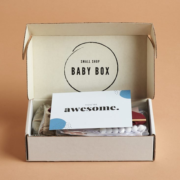 Small Shop Baby Box Winter 2020 packaging