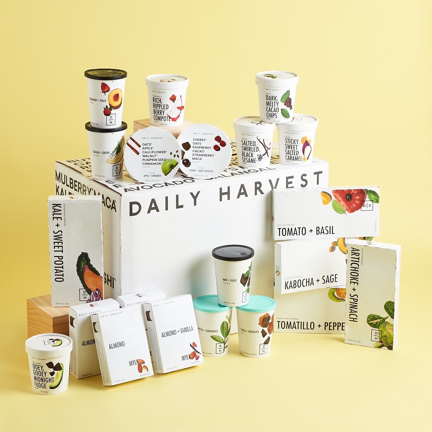 My Daily Harvest Review — I Stocked My Freezer With These Vegan Treats