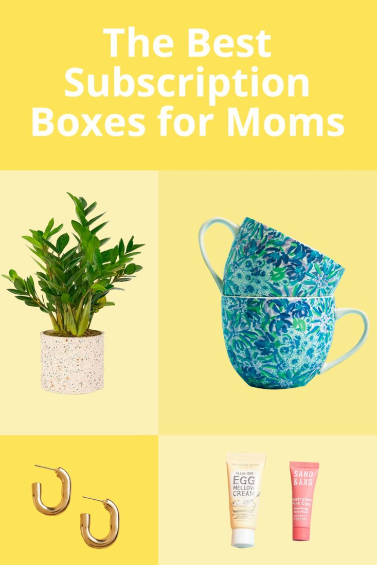 Mother's Day Gift Subscription List Pinnable image