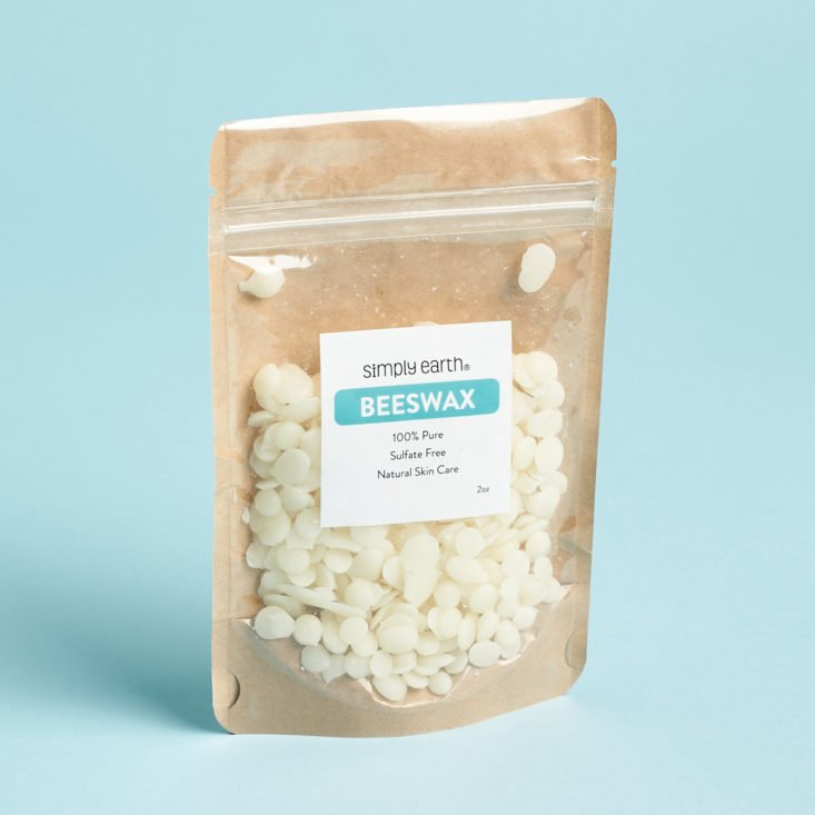 Simply Earth Beeswax pellets for DIYs