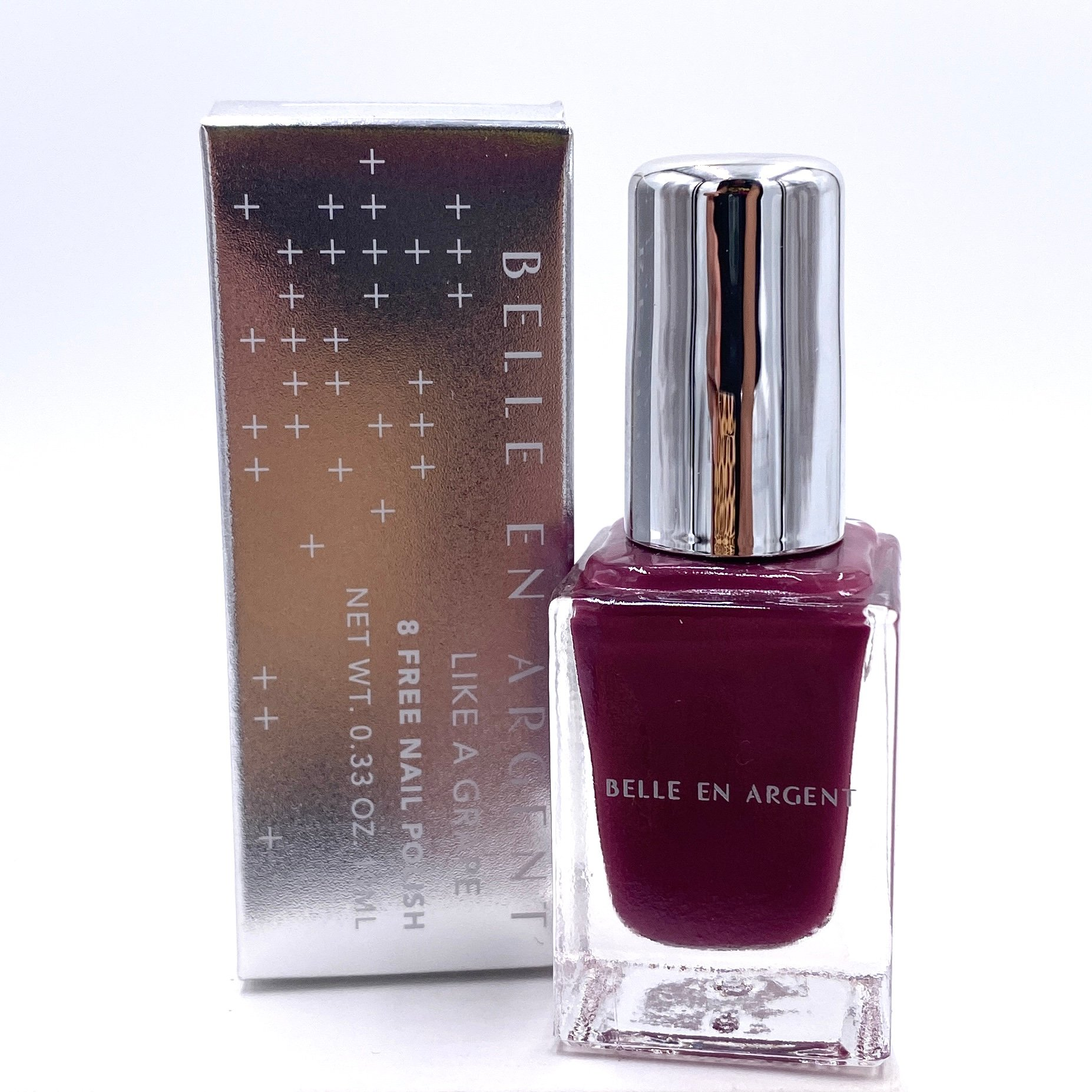 Belle en Argent 8 Free Nail Polish in Like a Grape Front for Ipsy Glam Bag March 2021