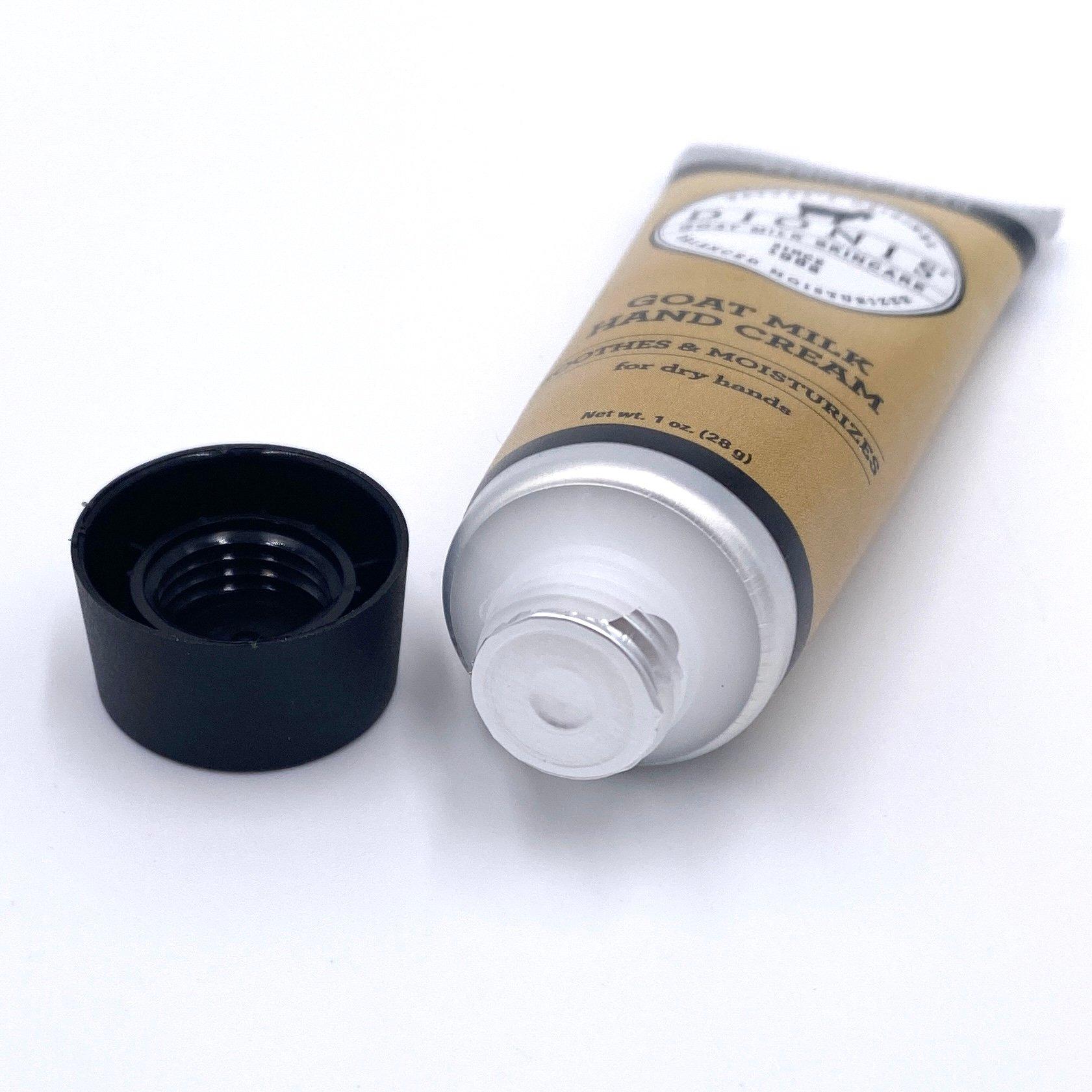 Dionis Vanilla Bean Goat Milk Hand Cream Open for Ipsy Glam Bag March 2021