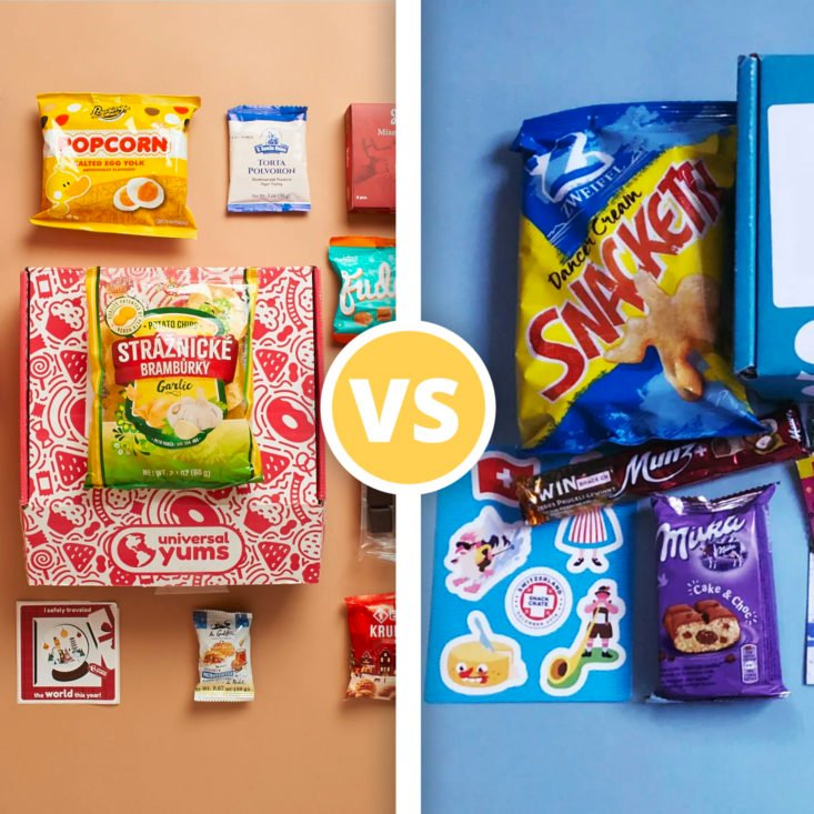 Universal Yums vs. SnackCrate— Which Global Snack Subscription Is Right For You?