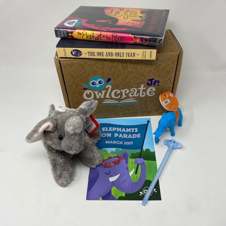 Review for OwlCrate Jr Book Box Review + Coupon – March 2021
