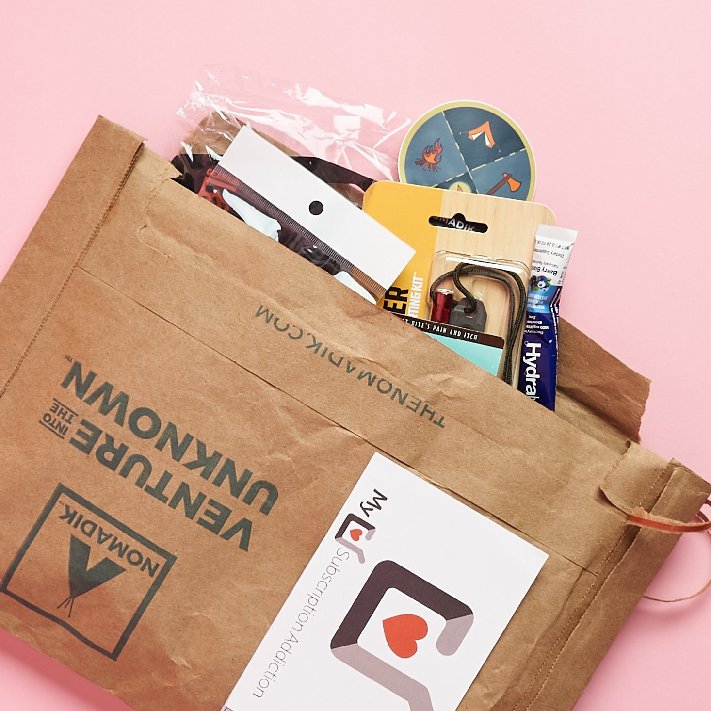Nomadik Drops Limited Quarterly Subscription: Available Now