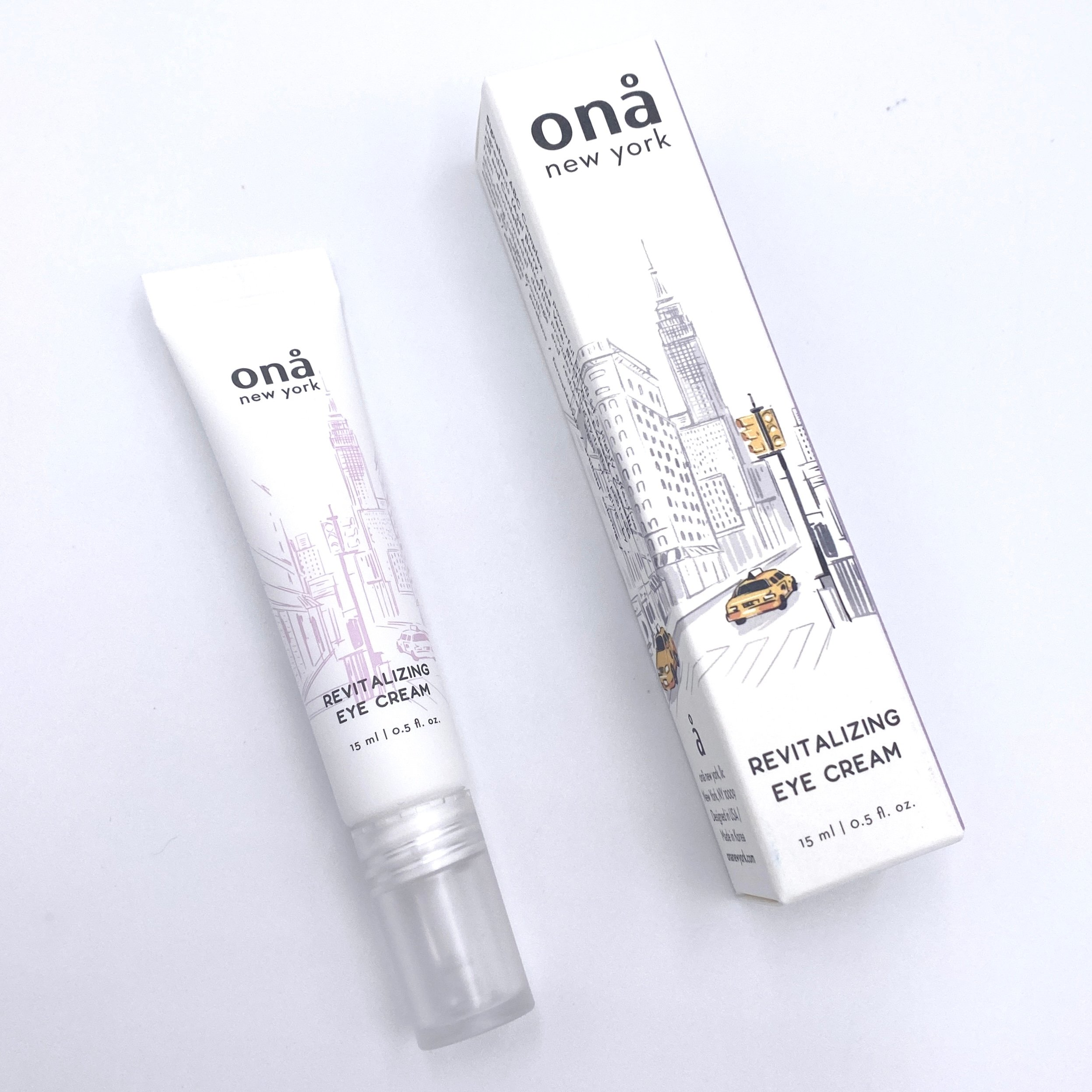 Ona New York Revitalizing Eye Cream Front for The Beem Box March 2021