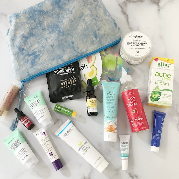 """Whole Foods """"Glow Up Beautiful"""" Limited Edition Beauty Kit Review"""