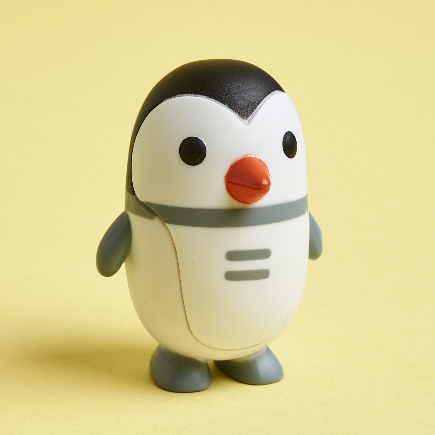 Sago Mini Box March 2021 penguin figure